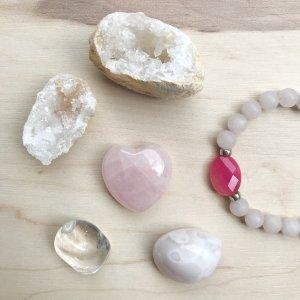 amora - geodes - coeur - bracelet