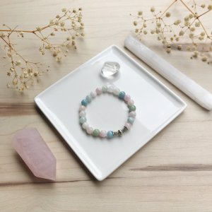 morganite - aghua - bracelet - eau
