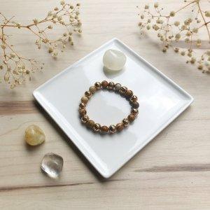 daria - bracelet - terre - jaspe