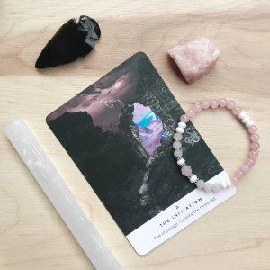 miaa - bracelet - obsidienne - accessoires - selenite
