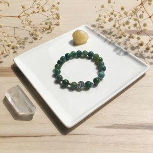 agata - bracelet - agate - terre