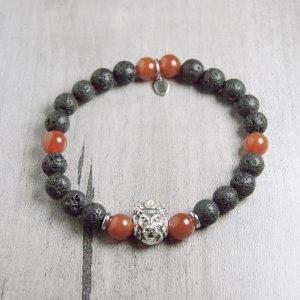 bracelet - feu - homme - force