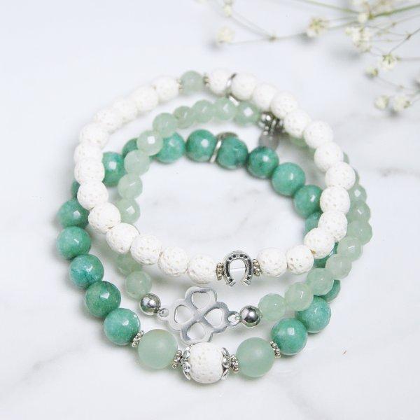 trio - bracelets - terre