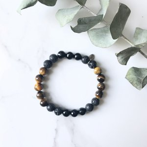bracelet - terre - realisation