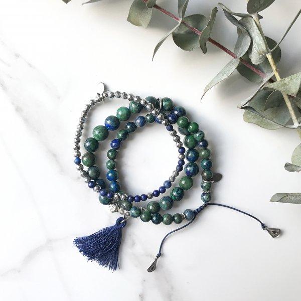 bracelets - trio - libere - eau