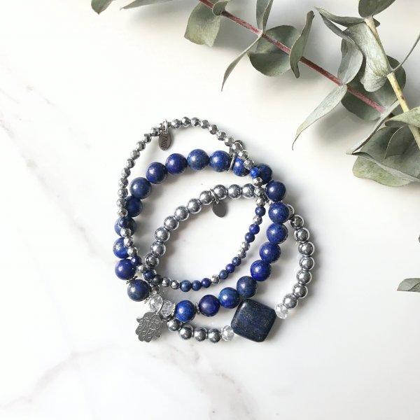 bracelets - trio - équilibre - eau