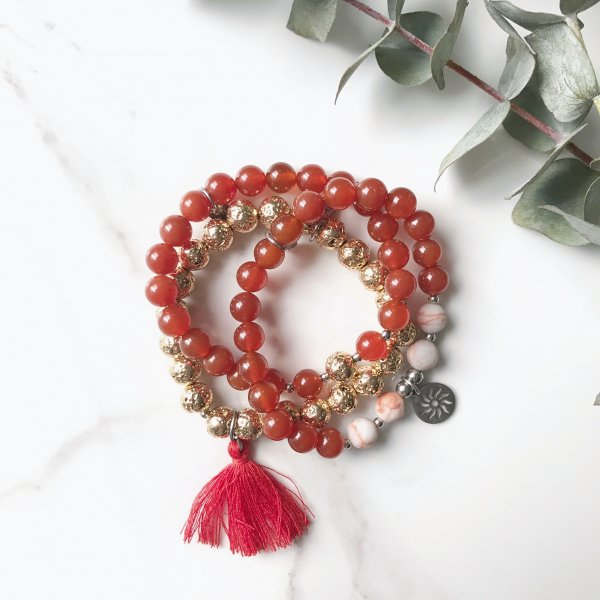 bracelets - trio - positif - feu