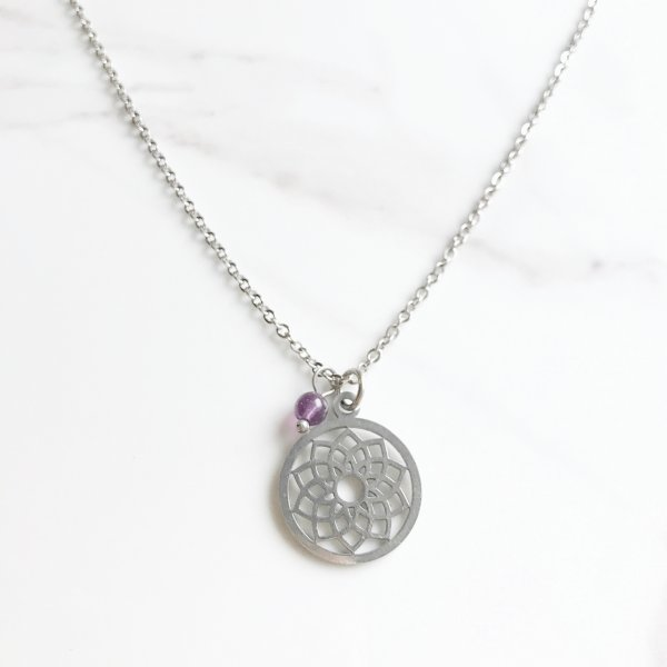 collier - chakra - couronne