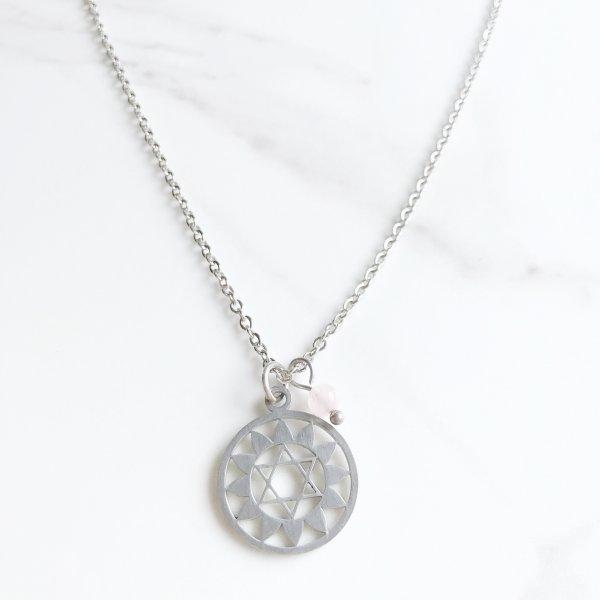 collier - chakra - coeur