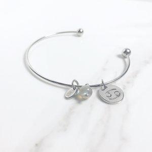 astra - bracelet - cancer - labradorite