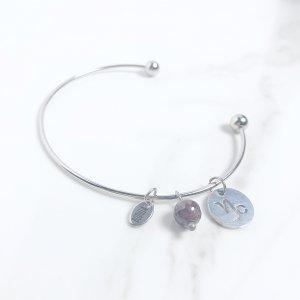 astra - bracelet - capricorne - grenat
