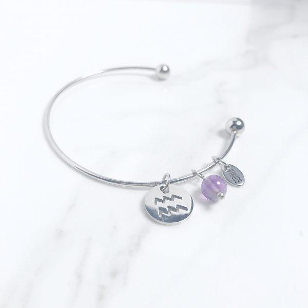 astra - bracelet - amethyste - verseau
