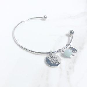 astra - bracelet - vierge - amazonite