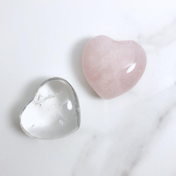 coeur - quartz - pierres