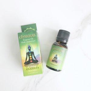 huile - chakra - coeur