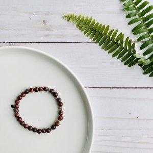 jaspe - rouge - bracelet