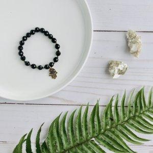 onyx - pierres - noires - Fatima - bracelet