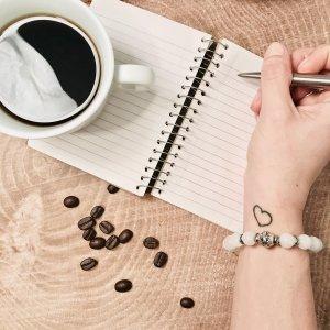 cafe - bracelet - ecriture