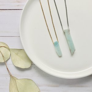 collier - athena - amazonite