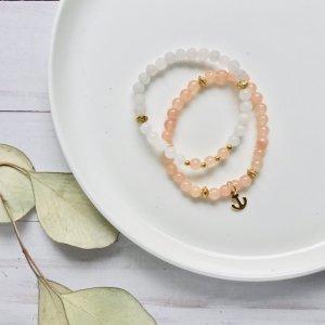 duo - bracelets - corail - ancre