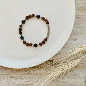 bracelet - rudraksha - perle - sacre
