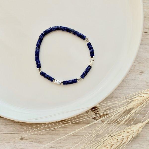 lapis-lazuli - bracelet - pierre