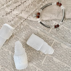 selenite - tours - bracelet