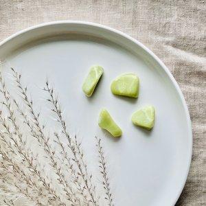 healerite - pierre - lime - verte